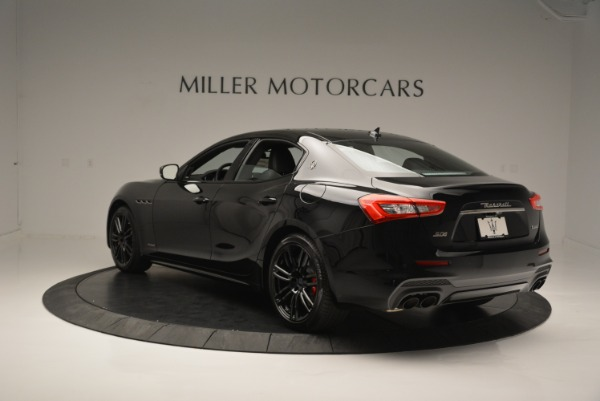 New 2018 Maserati Ghibli SQ4 GranSport Nerissimo for sale Sold at Bentley Greenwich in Greenwich CT 06830 5