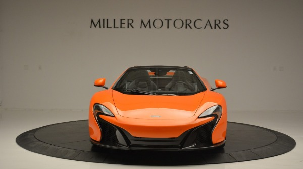 Used 2015 McLaren 650S Spider Convertible for sale Sold at Bentley Greenwich in Greenwich CT 06830 12