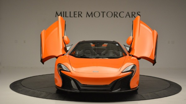 Used 2015 McLaren 650S Spider Convertible for sale Sold at Bentley Greenwich in Greenwich CT 06830 13