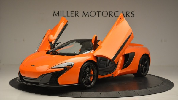 Used 2015 McLaren 650S Spider Convertible for sale Sold at Bentley Greenwich in Greenwich CT 06830 14