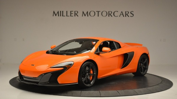 Used 2015 McLaren 650S Spider Convertible for sale Sold at Bentley Greenwich in Greenwich CT 06830 15