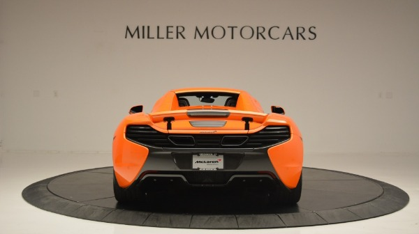 Used 2015 McLaren 650S Spider Convertible for sale Sold at Bentley Greenwich in Greenwich CT 06830 18
