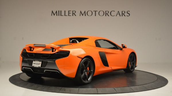 Used 2015 McLaren 650S Spider Convertible for sale Sold at Bentley Greenwich in Greenwich CT 06830 19