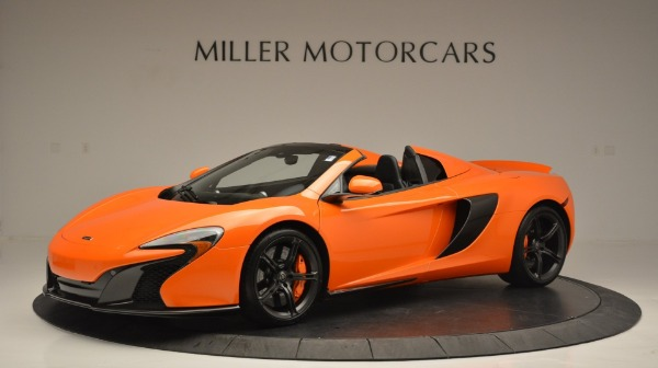 Used 2015 McLaren 650S Spider Convertible for sale Sold at Bentley Greenwich in Greenwich CT 06830 2