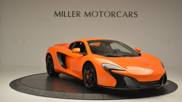 Used 2015 McLaren 650S Spider Convertible for sale Sold at Bentley Greenwich in Greenwich CT 06830 21