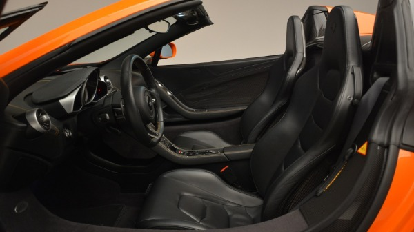 Used 2015 McLaren 650S Spider Convertible for sale Sold at Bentley Greenwich in Greenwich CT 06830 22