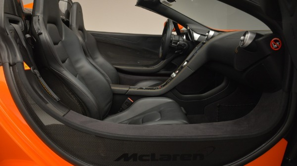 Used 2015 McLaren 650S Spider Convertible for sale Sold at Bentley Greenwich in Greenwich CT 06830 26