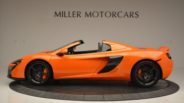 Used 2015 McLaren 650S Spider Convertible for sale Sold at Bentley Greenwich in Greenwich CT 06830 3