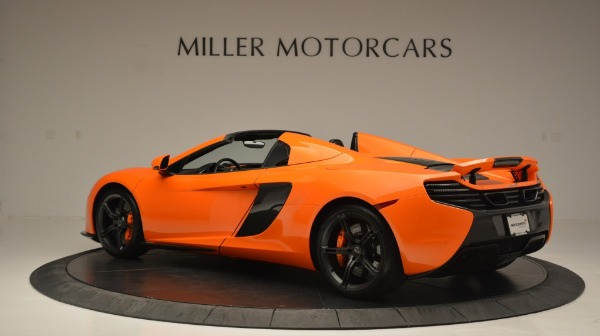 Used 2015 McLaren 650S Spider Convertible for sale Sold at Bentley Greenwich in Greenwich CT 06830 4