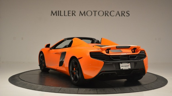 Used 2015 McLaren 650S Spider Convertible for sale Sold at Bentley Greenwich in Greenwich CT 06830 5