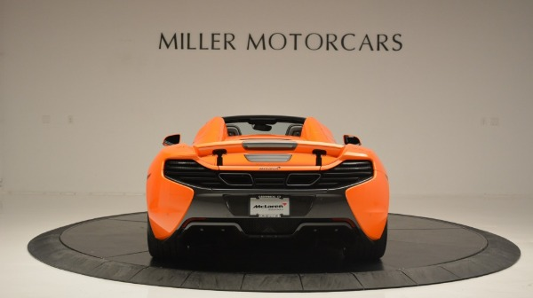 Used 2015 McLaren 650S Spider Convertible for sale Sold at Bentley Greenwich in Greenwich CT 06830 6