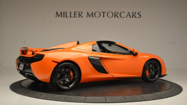 Used 2015 McLaren 650S Spider Convertible for sale Sold at Bentley Greenwich in Greenwich CT 06830 8