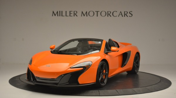 Used 2015 McLaren 650S Spider Convertible for sale Sold at Bentley Greenwich in Greenwich CT 06830 1