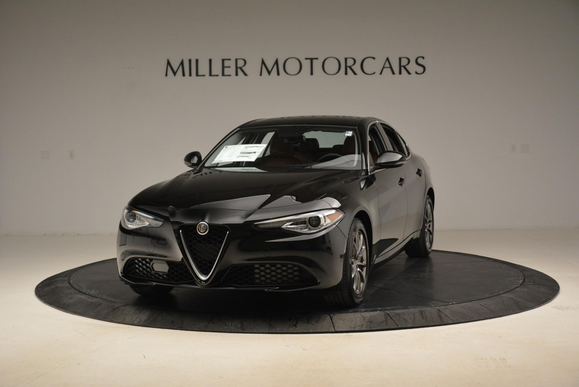 New 2018 Alfa Romeo Giulia Q4 for sale Sold at Bentley Greenwich in Greenwich CT 06830 1
