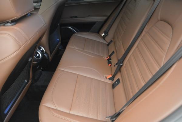 Used 2018 Alfa Romeo Stelvio Ti Sport Q4 for sale $32,900 at Bentley Greenwich in Greenwich CT 06830 18
