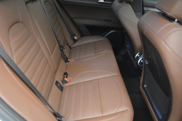 Used 2018 Alfa Romeo Stelvio Ti Sport Q4 for sale $32,900 at Bentley Greenwich in Greenwich CT 06830 24