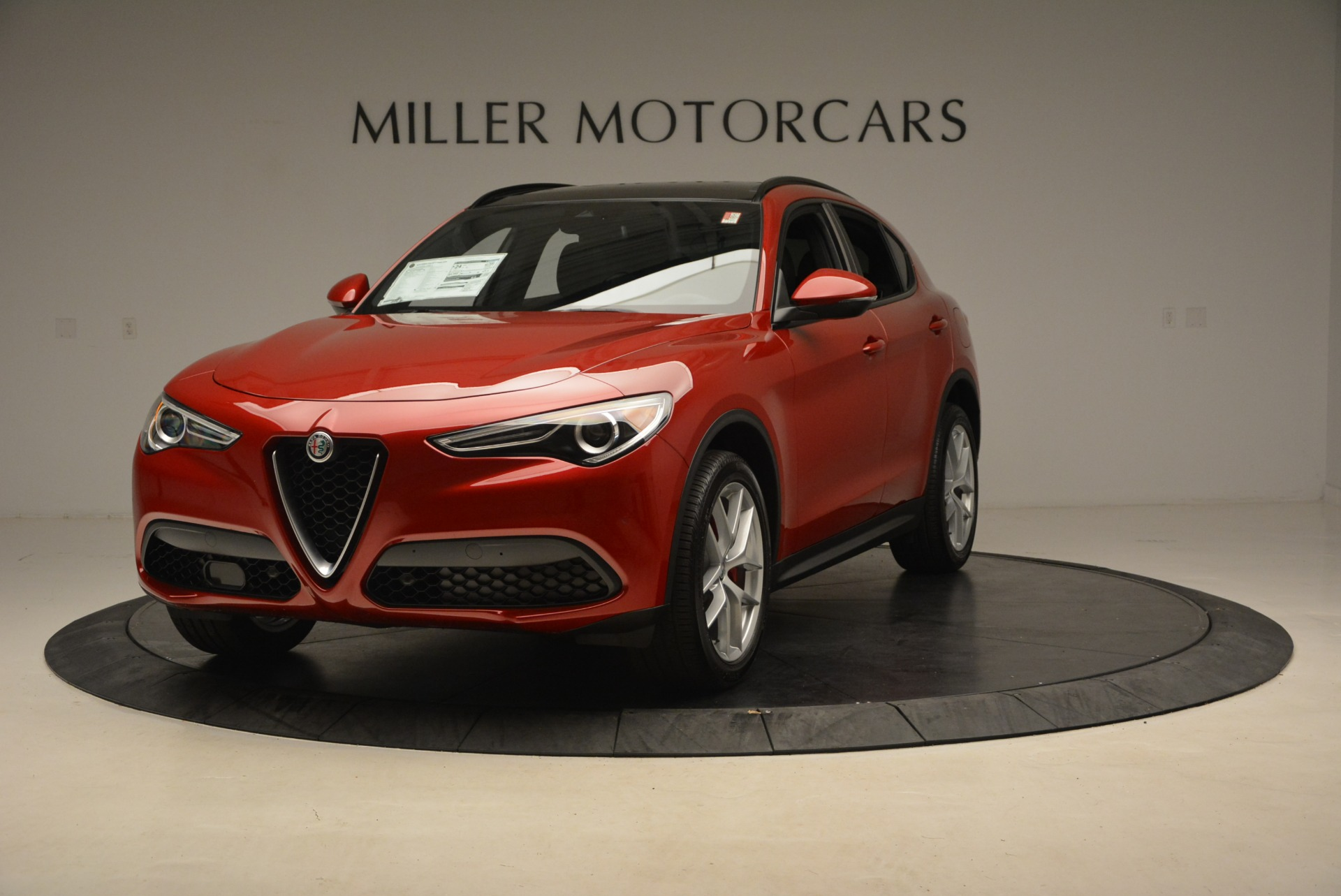 New 2018 Alfa Romeo Stelvio Ti Sport Q4 for sale Sold at Bentley Greenwich in Greenwich CT 06830 1