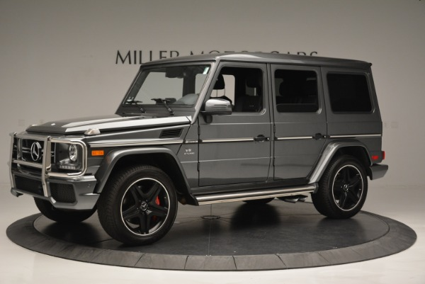 Used 2017 Mercedes-Benz G-Class AMG G 63 for sale Sold at Bentley Greenwich in Greenwich CT 06830 2