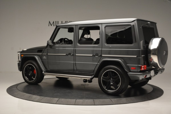 Used 2017 Mercedes-Benz G-Class AMG G 63 for sale Sold at Bentley Greenwich in Greenwich CT 06830 4