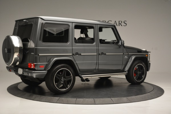 Used 2017 Mercedes-Benz G-Class AMG G 63 for sale Sold at Bentley Greenwich in Greenwich CT 06830 8