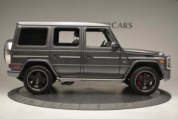Used 2017 Mercedes-Benz G-Class AMG G 63 for sale Sold at Bentley Greenwich in Greenwich CT 06830 9