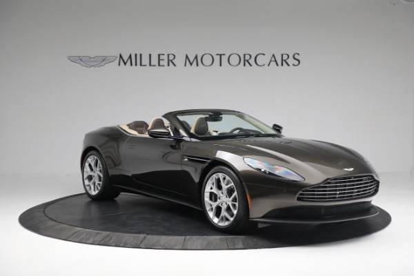 New 2019 Aston Martin DB11 V8 Convertible for sale Sold at Bentley Greenwich in Greenwich CT 06830 10