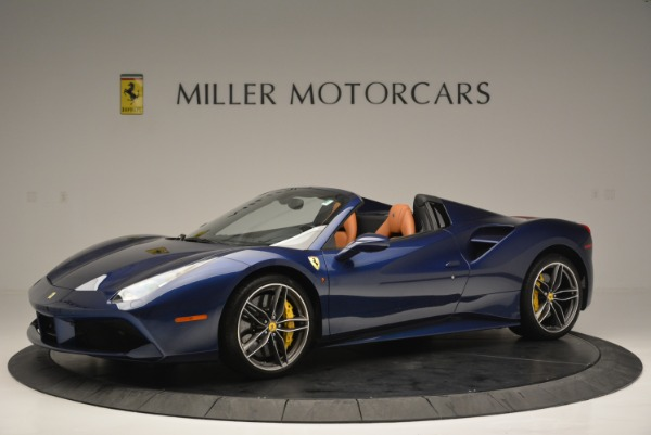 Used 2016 Ferrari 488 Spider for sale Sold at Bentley Greenwich in Greenwich CT 06830 2