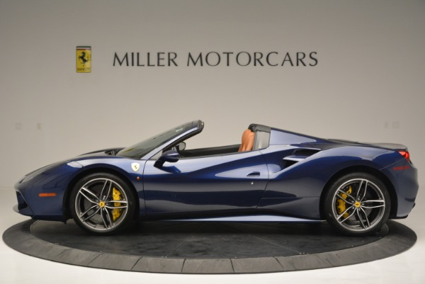 Used 2016 Ferrari 488 Spider for sale Sold at Bentley Greenwich in Greenwich CT 06830 3