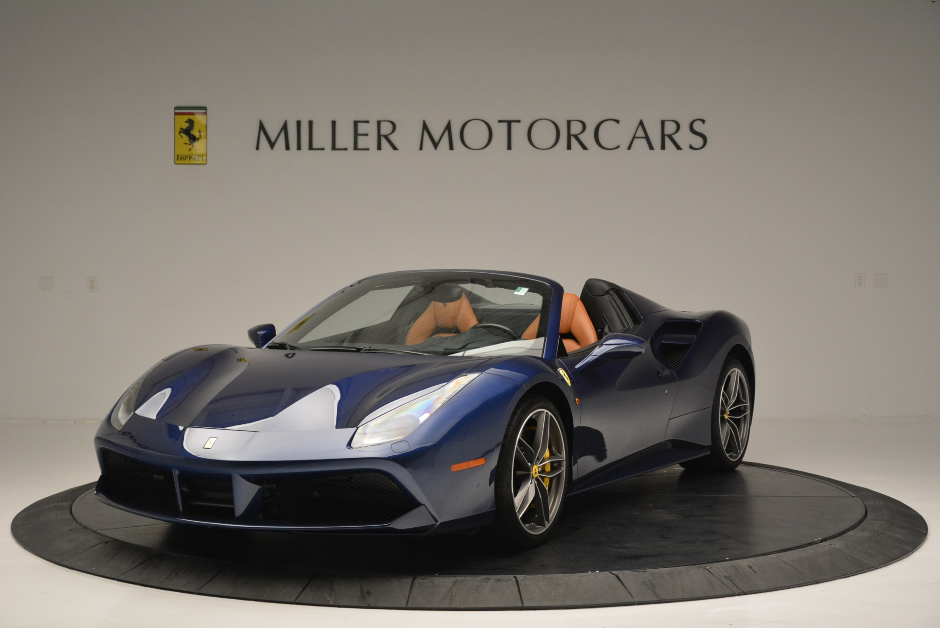 Used 2016 Ferrari 488 Spider for sale Sold at Bentley Greenwich in Greenwich CT 06830 1