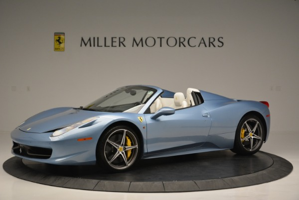 Used 2012 Ferrari 458 Spider for sale Sold at Bentley Greenwich in Greenwich CT 06830 2