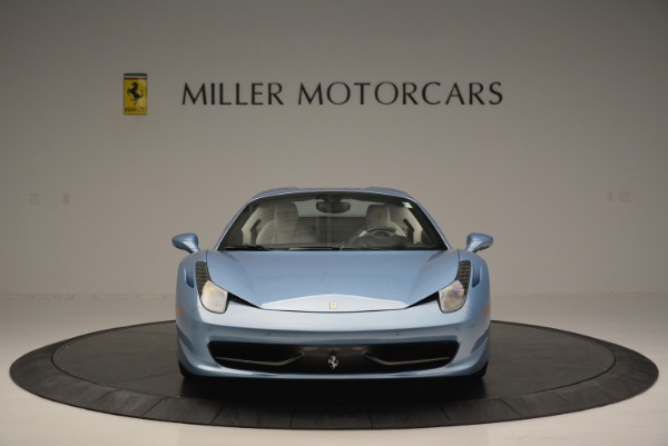 Used 2012 Ferrari 458 Spider for sale Sold at Bentley Greenwich in Greenwich CT 06830 24