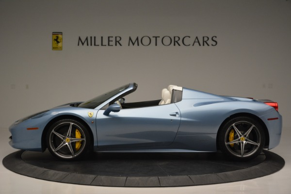 Used 2012 Ferrari 458 Spider for sale Sold at Bentley Greenwich in Greenwich CT 06830 3