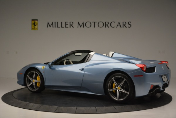 Used 2012 Ferrari 458 Spider for sale Sold at Bentley Greenwich in Greenwich CT 06830 4