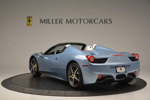 Used 2012 Ferrari 458 Spider for sale Sold at Bentley Greenwich in Greenwich CT 06830 5