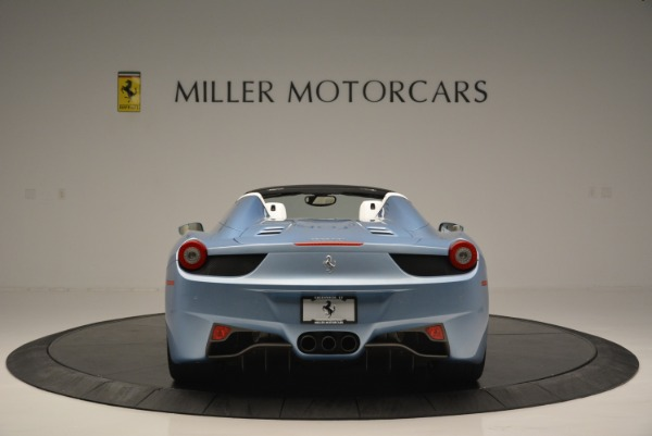 Used 2012 Ferrari 458 Spider for sale Sold at Bentley Greenwich in Greenwich CT 06830 6