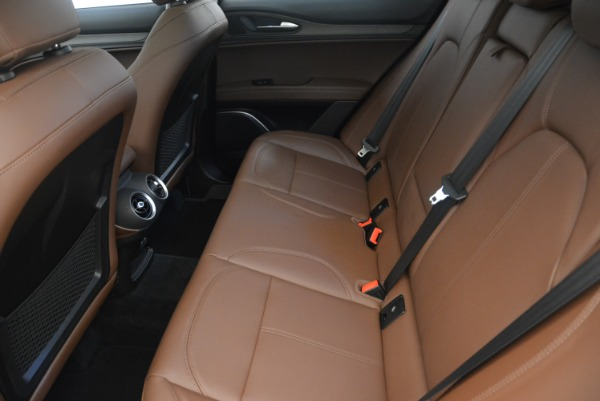 New 2018 Alfa Romeo Stelvio Ti Q4 for sale Sold at Bentley Greenwich in Greenwich CT 06830 17
