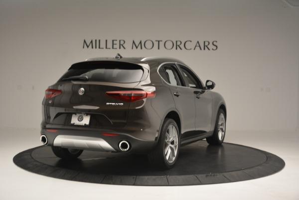 New 2018 Alfa Romeo Stelvio Ti Q4 for sale Sold at Bentley Greenwich in Greenwich CT 06830 7