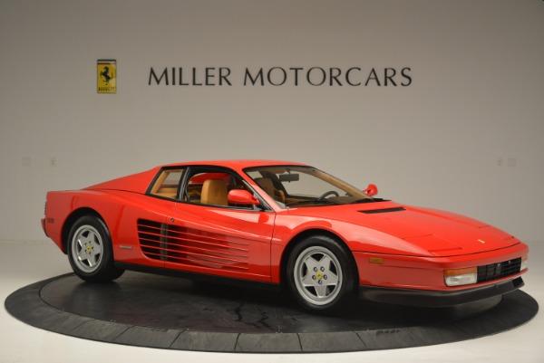 Used 1990 Ferrari Testarossa for sale Sold at Bentley Greenwich in Greenwich CT 06830 10
