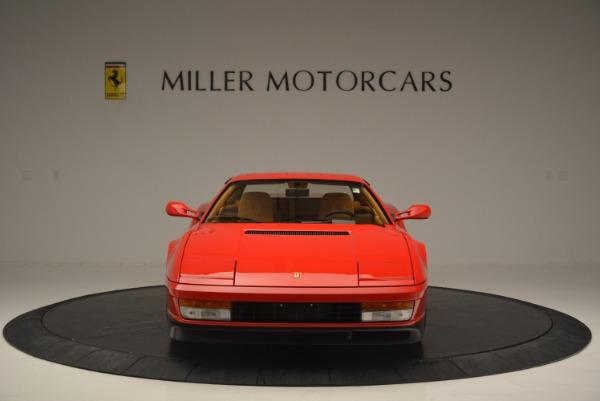 Used 1990 Ferrari Testarossa for sale Sold at Bentley Greenwich in Greenwich CT 06830 12