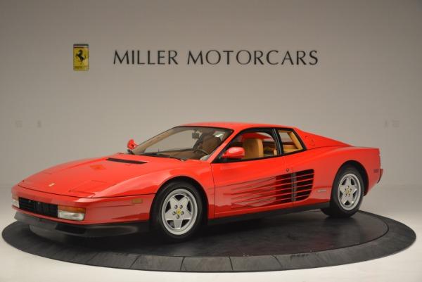 Used 1990 Ferrari Testarossa for sale Sold at Bentley Greenwich in Greenwich CT 06830 2