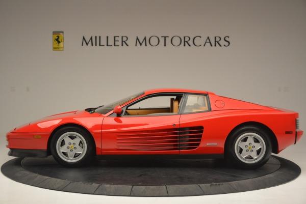 Used 1990 Ferrari Testarossa for sale Sold at Bentley Greenwich in Greenwich CT 06830 3