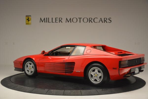 Used 1990 Ferrari Testarossa for sale Sold at Bentley Greenwich in Greenwich CT 06830 4