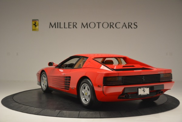 Used 1990 Ferrari Testarossa for sale Sold at Bentley Greenwich in Greenwich CT 06830 5