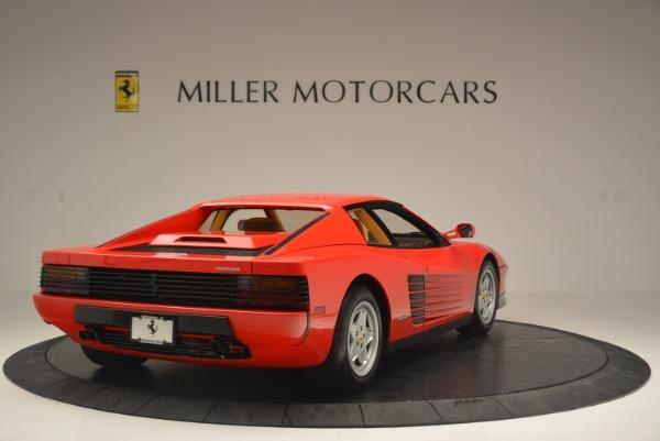 Used 1990 Ferrari Testarossa for sale Sold at Bentley Greenwich in Greenwich CT 06830 7