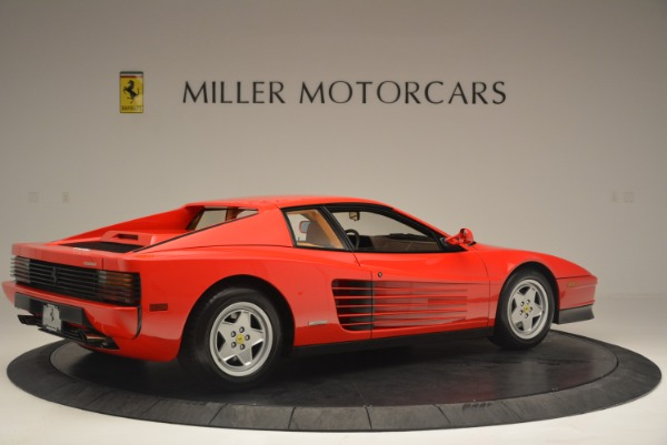 Used 1990 Ferrari Testarossa for sale Sold at Bentley Greenwich in Greenwich CT 06830 8
