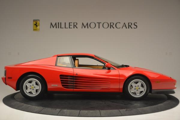 Used 1990 Ferrari Testarossa for sale Sold at Bentley Greenwich in Greenwich CT 06830 9