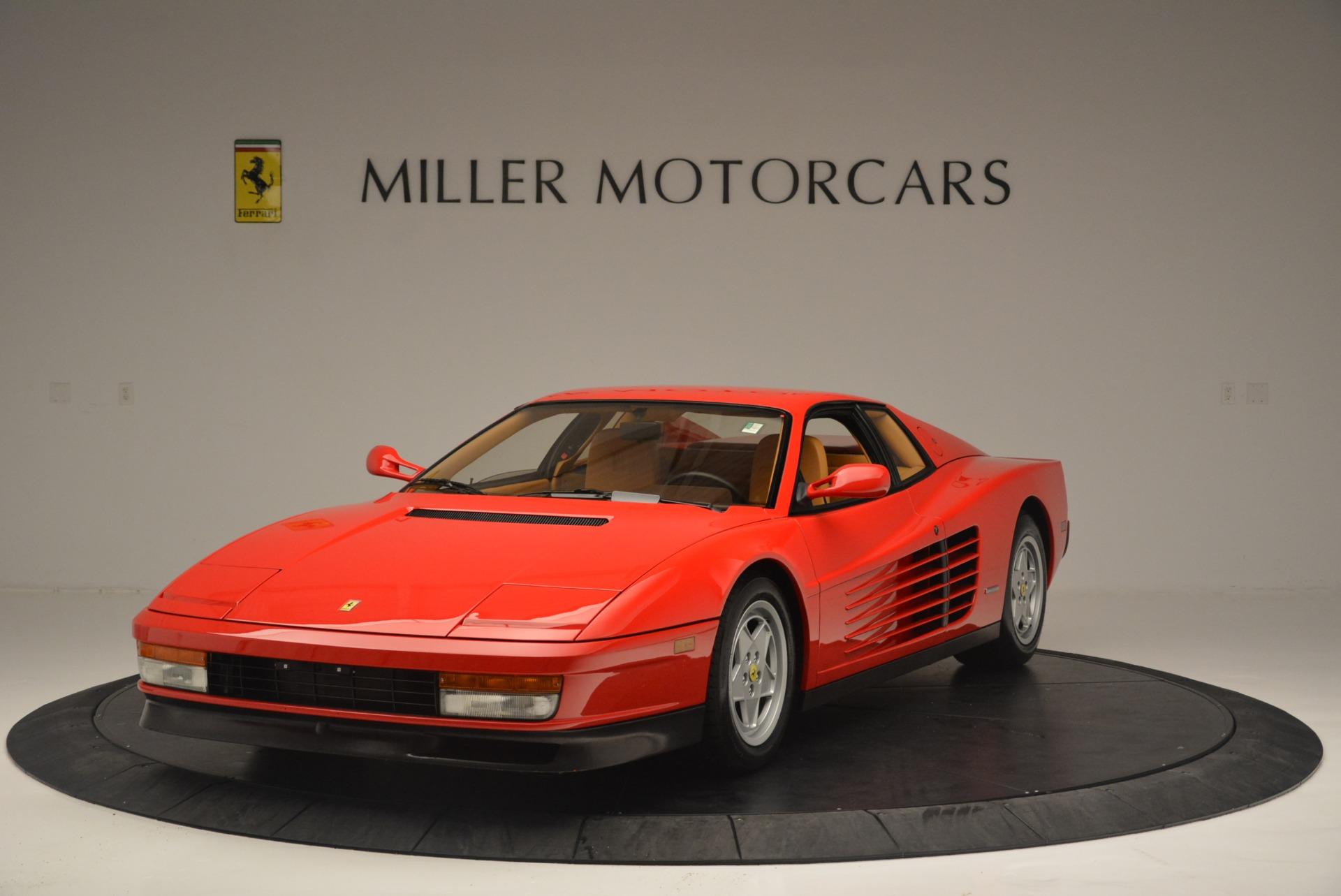 Used 1990 Ferrari Testarossa for sale Sold at Bentley Greenwich in Greenwich CT 06830 1