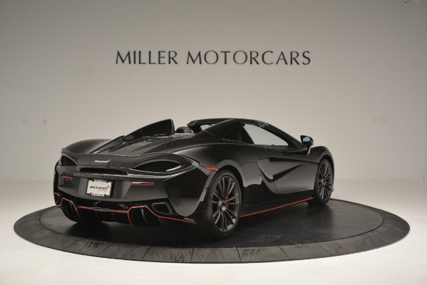 Used 2018 McLaren 570S Spider for sale Sold at Bentley Greenwich in Greenwich CT 06830 7