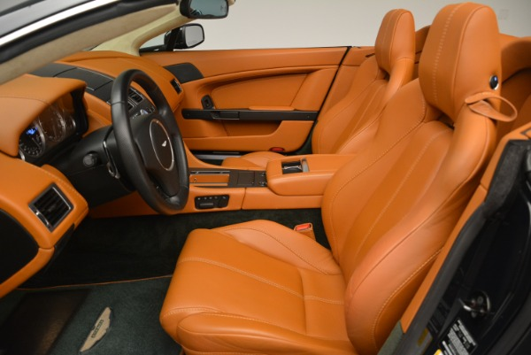 Used 2008 Aston Martin V8 Vantage Roadster for sale Sold at Bentley Greenwich in Greenwich CT 06830 16