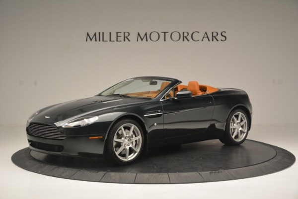 Used 2008 Aston Martin V8 Vantage Roadster for sale Sold at Bentley Greenwich in Greenwich CT 06830 2